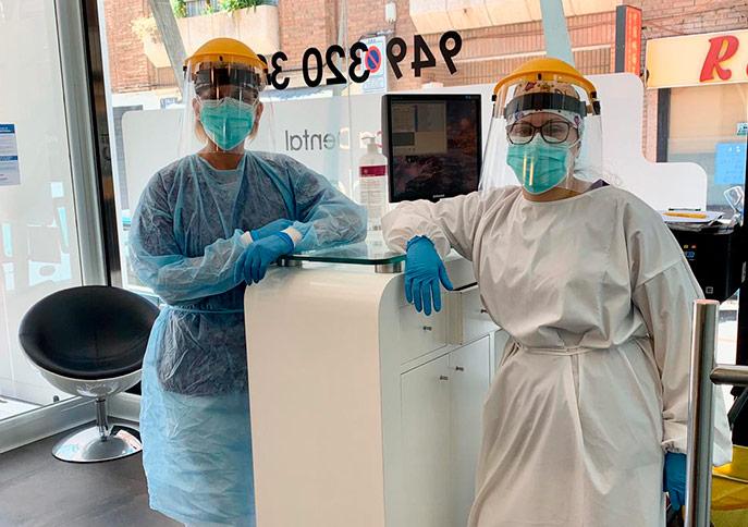 Cumplimos el protocolo de seguridad covid19 para clínicas dentales